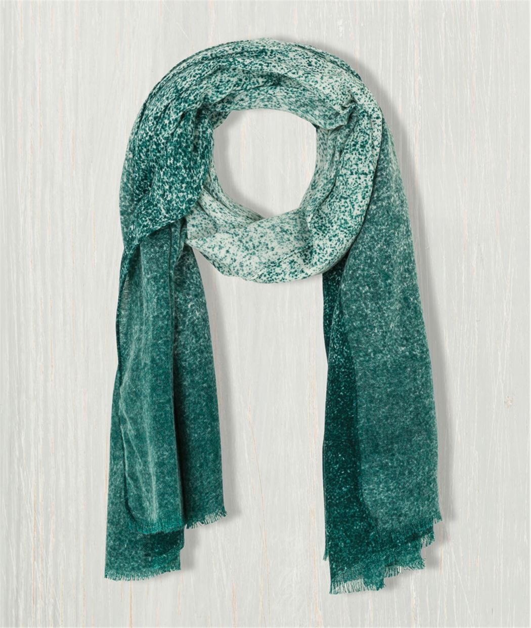 Echarpe femme Tie and Dye PACIFIC GREEN