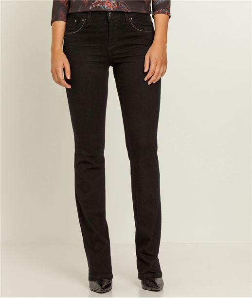 jeans bootcut femme jeans large femme grain de malice. Black Bedroom Furniture Sets. Home Design Ideas