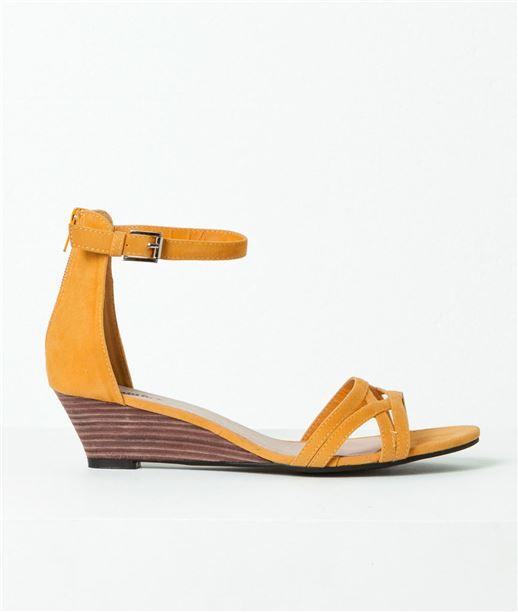 Chaussures femme sandales compensées SAFRAN
