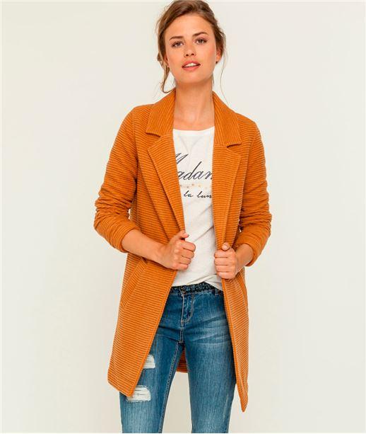 Manteau femme intersaison avec laine SAFRAN