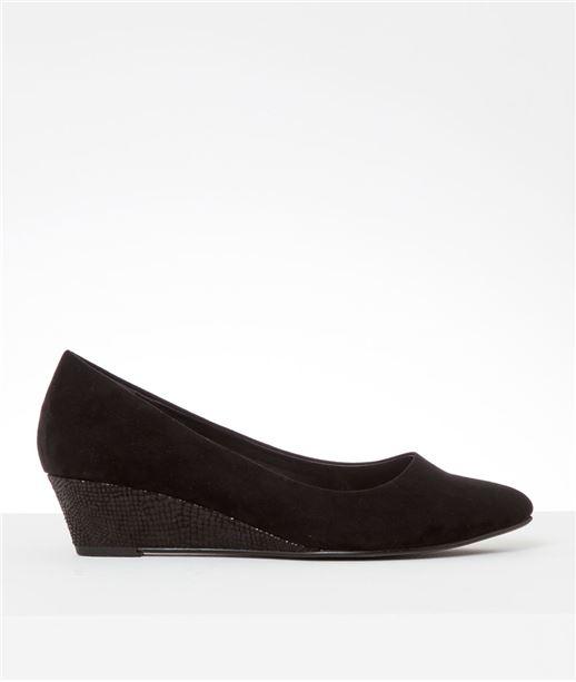 Chaussures femme compensées NOIR