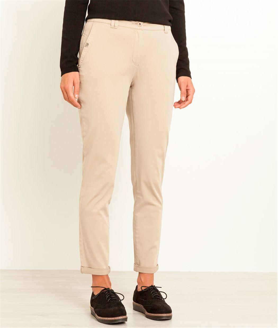 Pantalon femme chino MASTIC