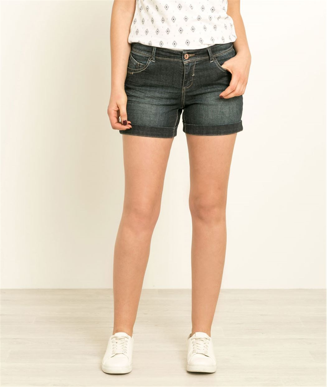 Short denim RINSE