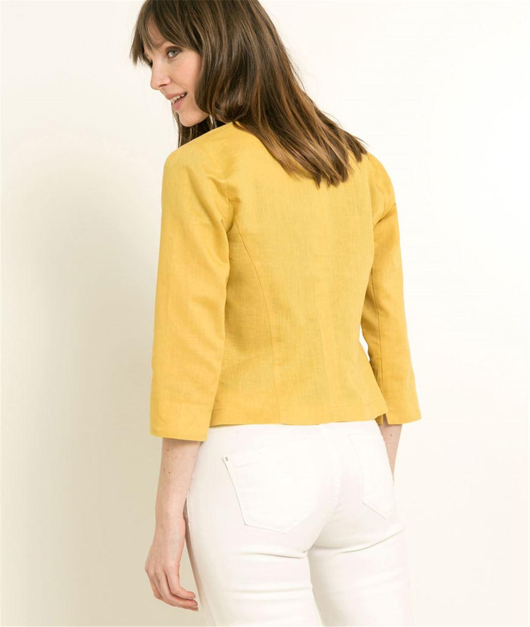 Veste jaune grain de malice