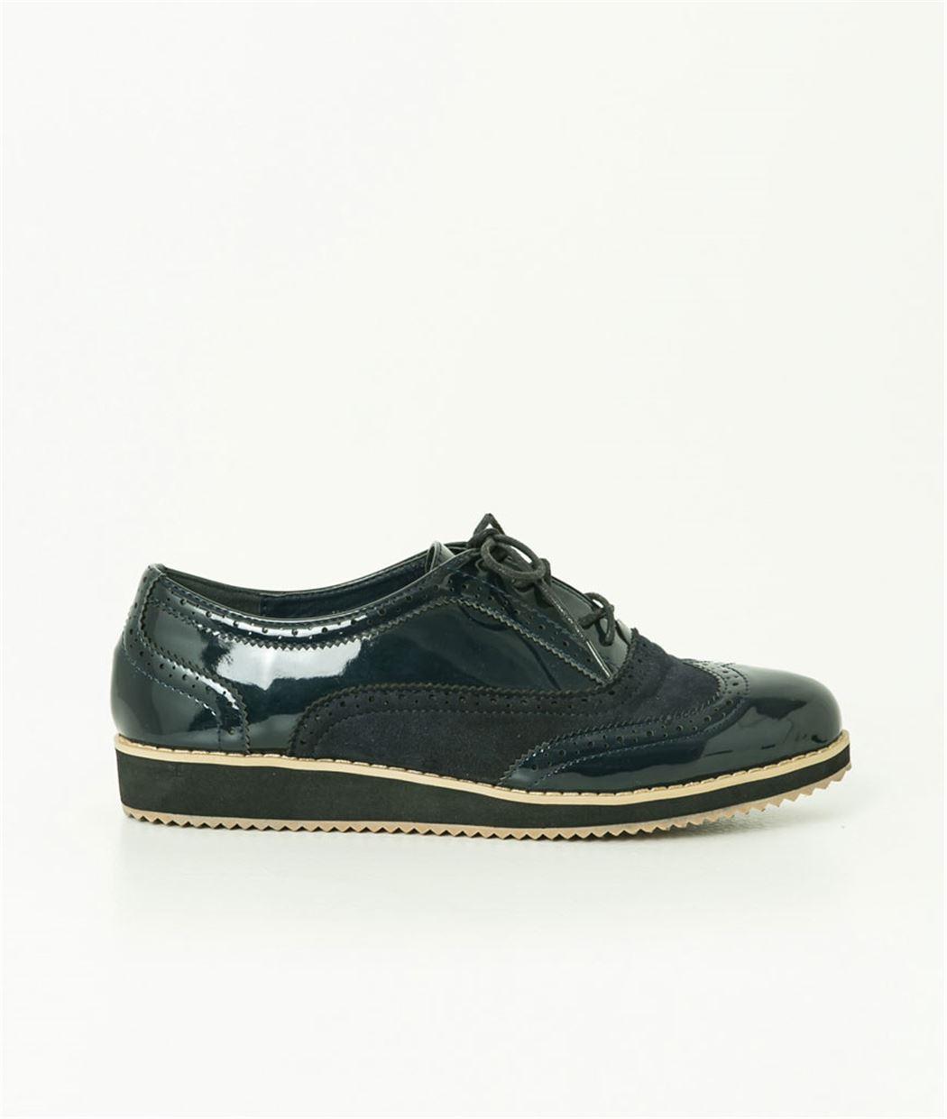 Chaussures femme cuir noir et doublure en cuir de veau