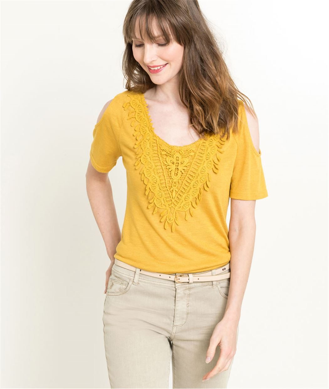 T-shirt femme manches courtes SAFRAN