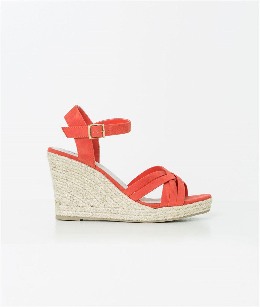 Sandales femme espadrilles compensées CORAIL
