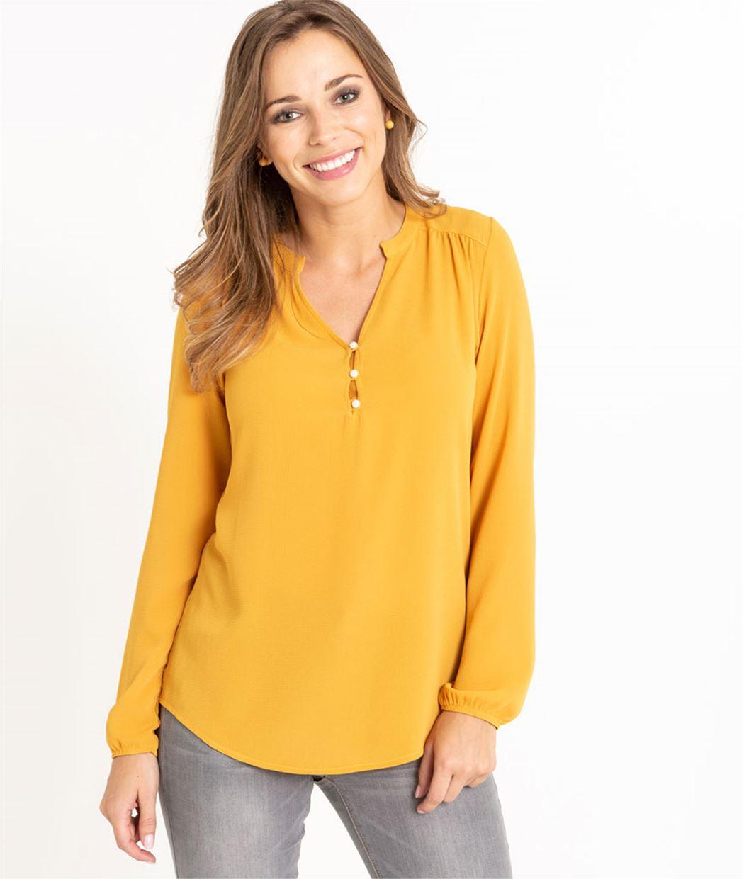 T-shirt femme manches longues SAFRAN