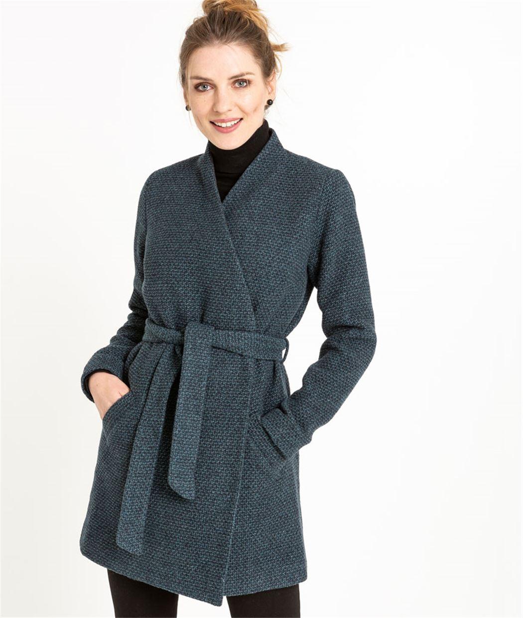 Manteau femme avec ceinture VERONEZE