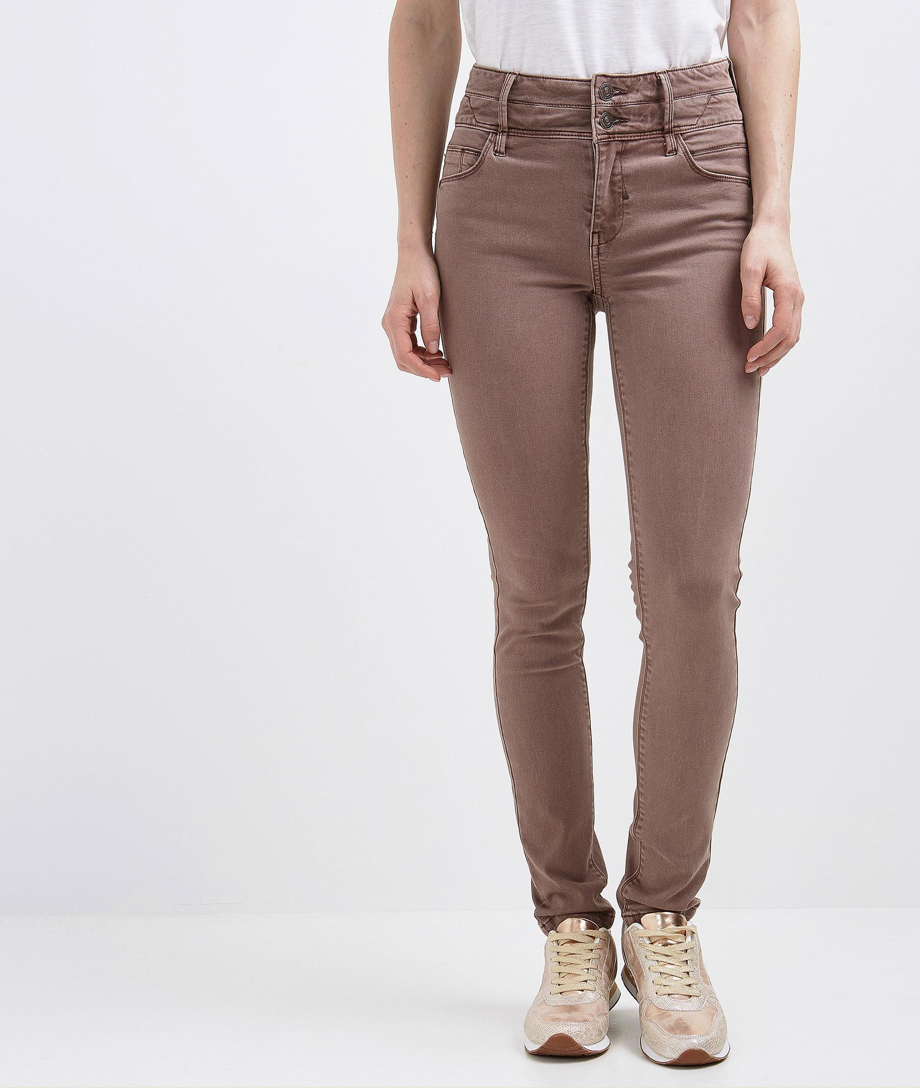 Pantalon femme slim taille haute IRIS