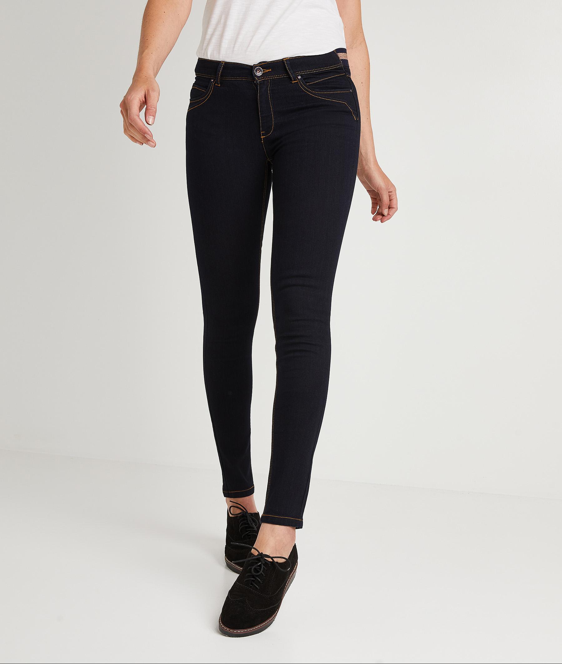 Pantalon jegging femme BLUE BLACK