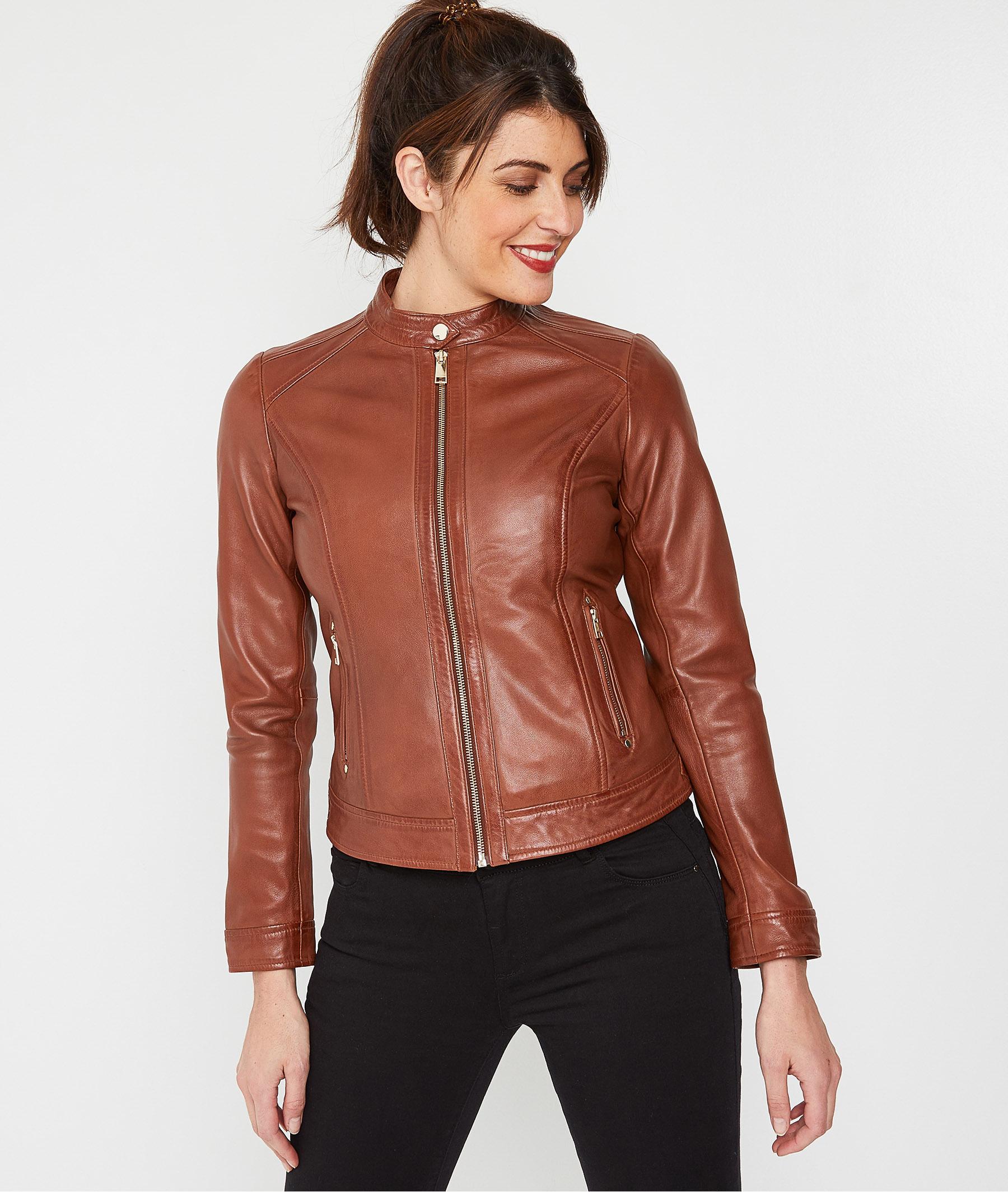 Veste et blouson pour femme, veste en cuir | Promod