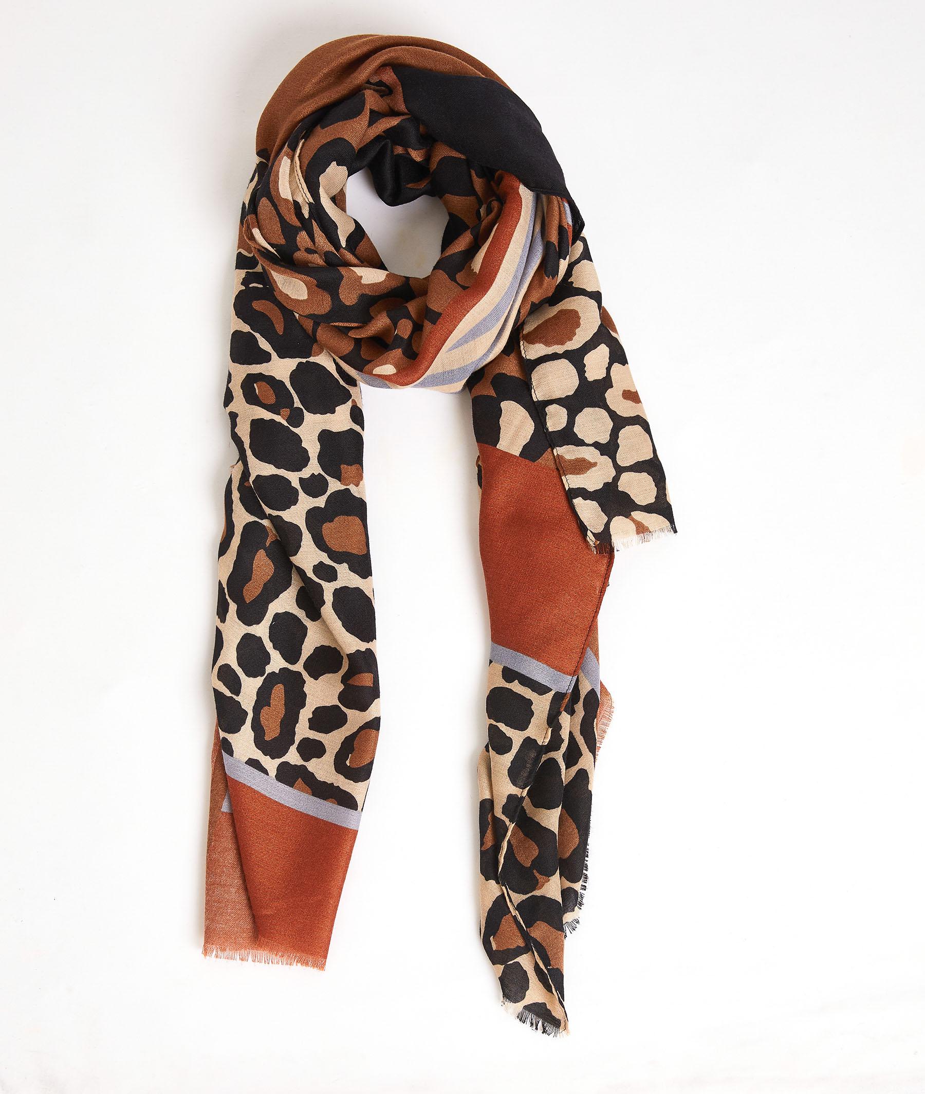 Etole imprimé léopard femme BEIGE