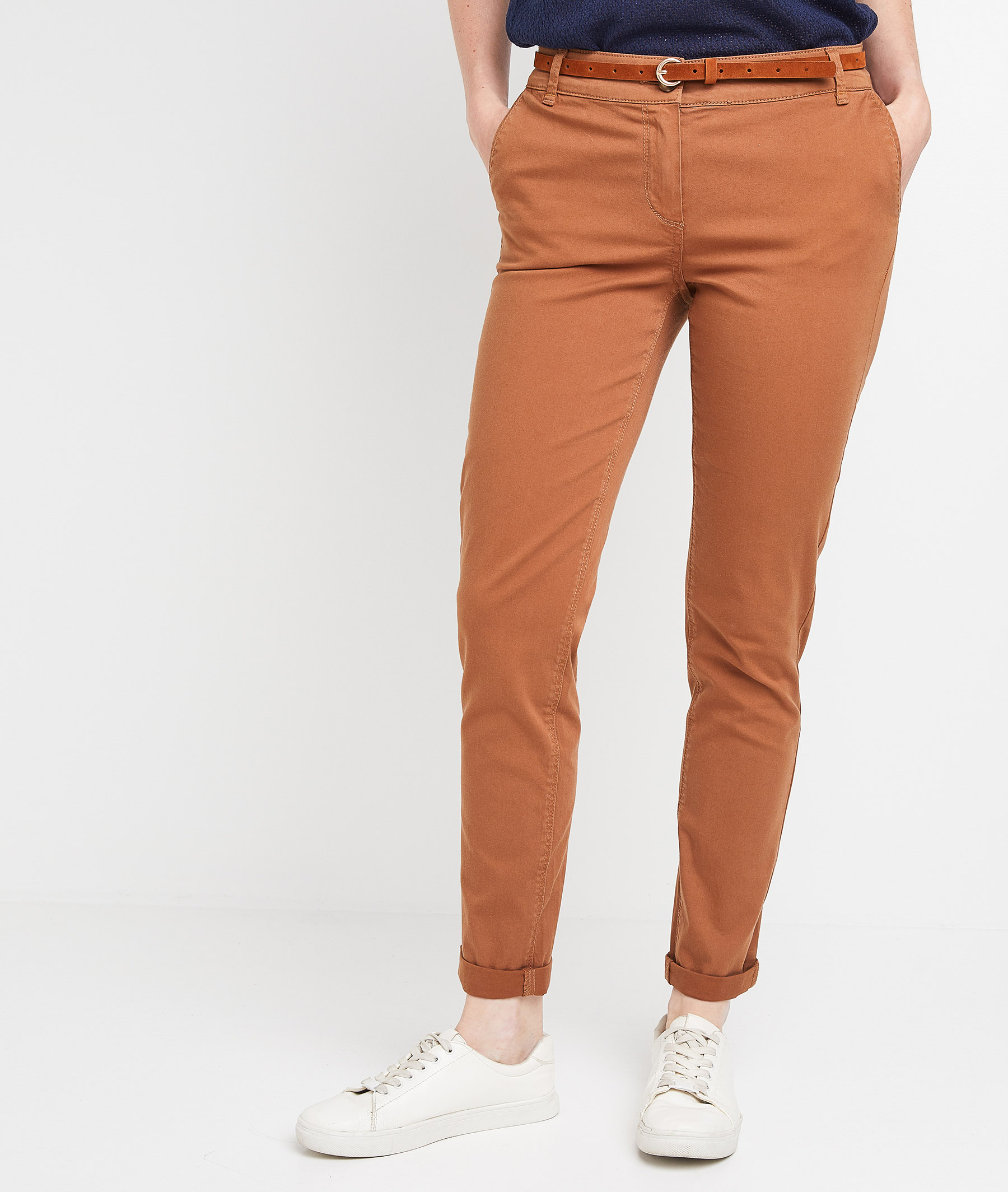 Chino camel femme CAMEL
