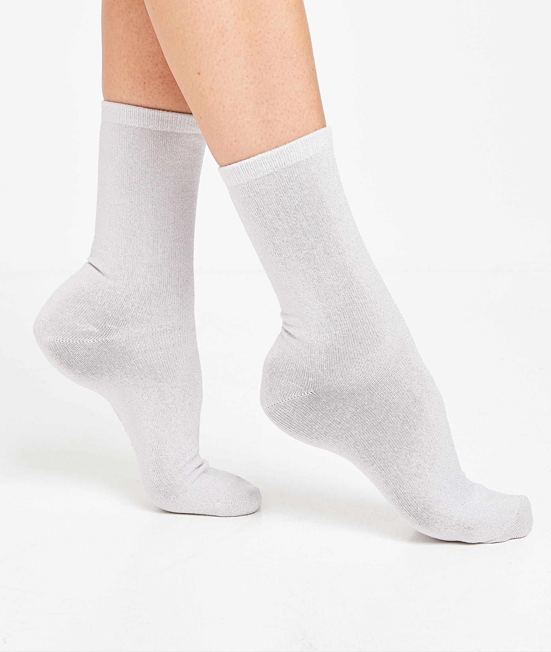 Lot de 2 paires de chaussettes femme LILAS