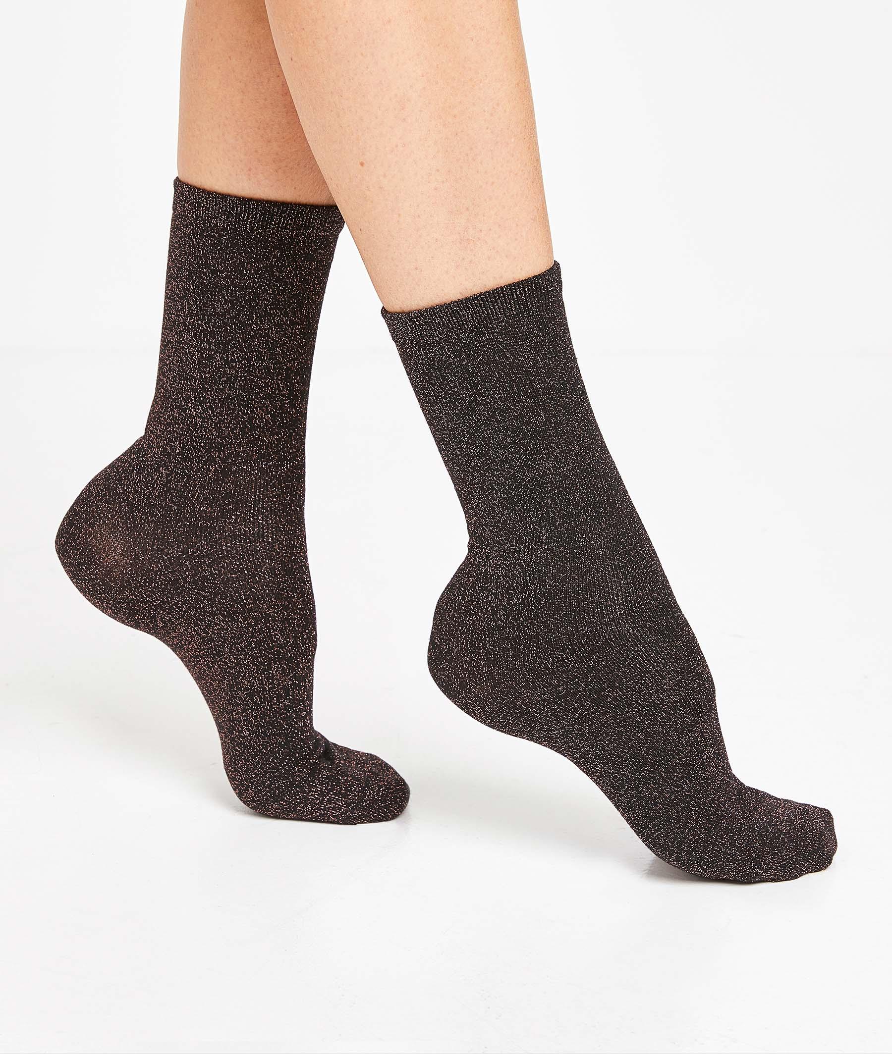 Lot de 2 paires de chaussettes femme LEOPARD