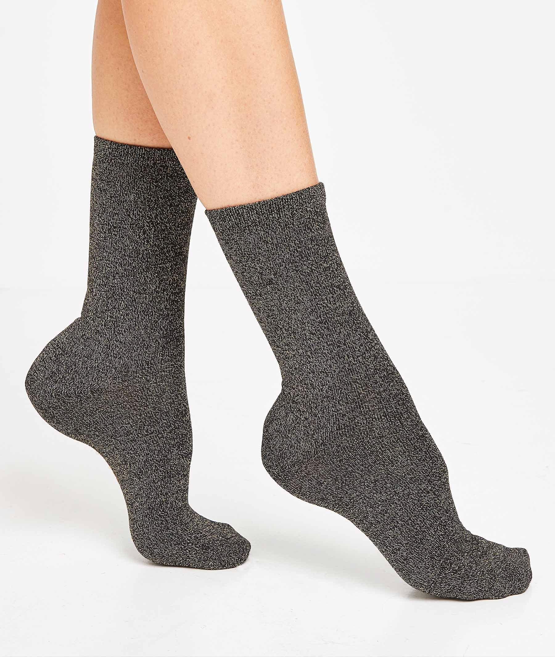 Lot de 2 paires de chaussettes femme MARINE