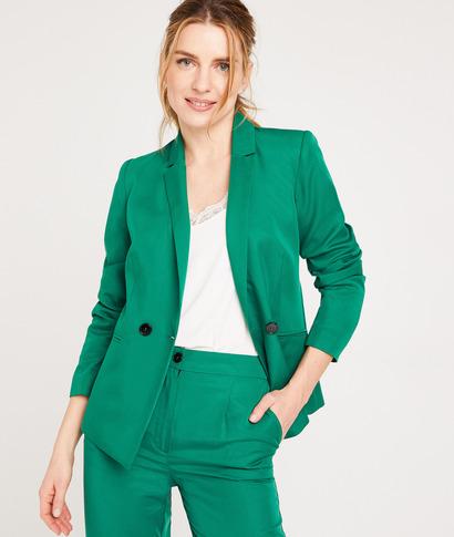 Veste de tailleur verte femme VERT