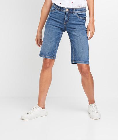 Bermuda en jean femme STONE