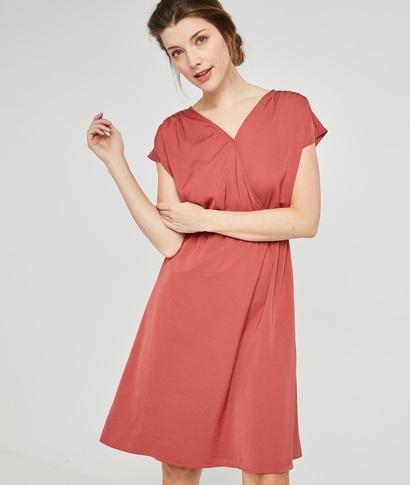 Robe cache-coeur rose femme BLUSH
