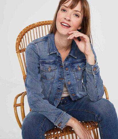 Veste en jean stretch femme STONE