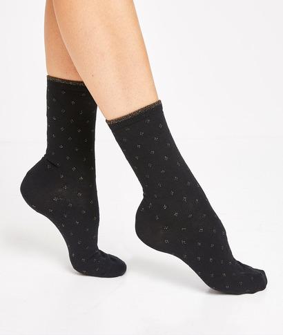 Lot de 2 paires de chaussettes femme NOIR