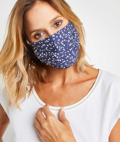 Masque en tissu fantaisie femme CAMEL