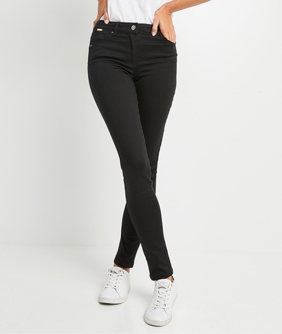 Jean RIO slim push up femme BLACK