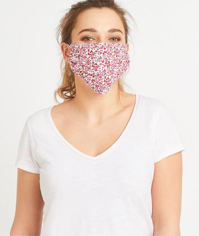 Masque en tissu fantaisie femme ROSE
