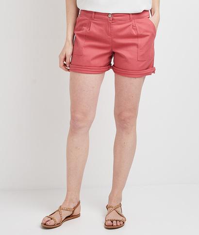Short en coton femme ROSE