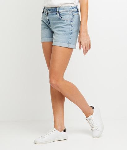 Short en jean femme LIGHT STONE