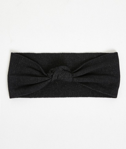 Headband noir femme GRIS FONCE