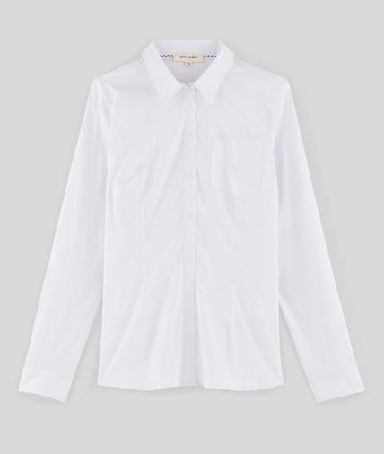 Chemise blanche manches longues ECRU
