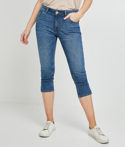 Corsaire en jean femme STONE