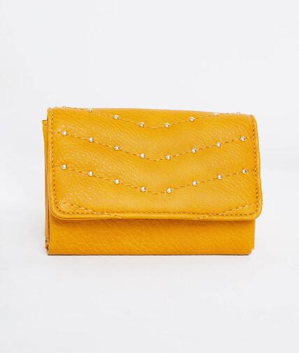 Portefeuille jaune femme JAUNE
