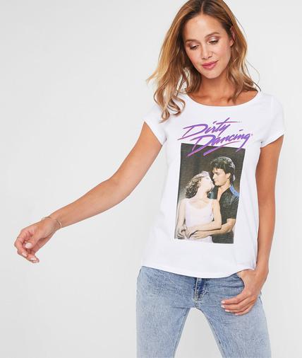 Tshirt Dirty Dancing femme BLANC
