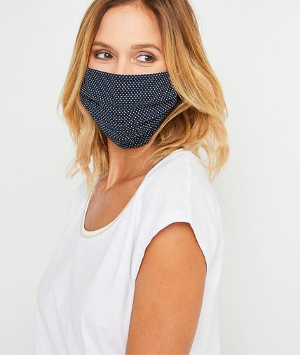Masque en tissu fantaisie femme NAVY