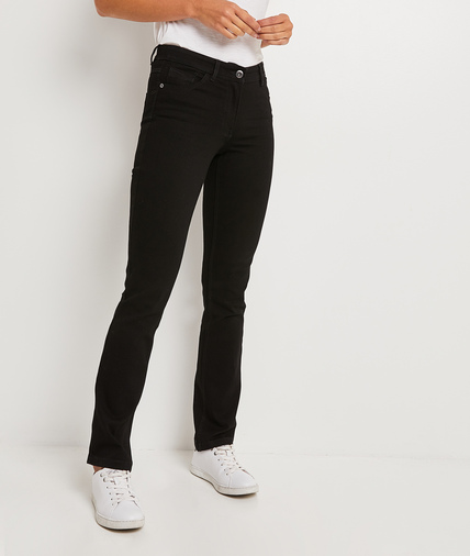 Jean NEW YORK droit femme BLACK