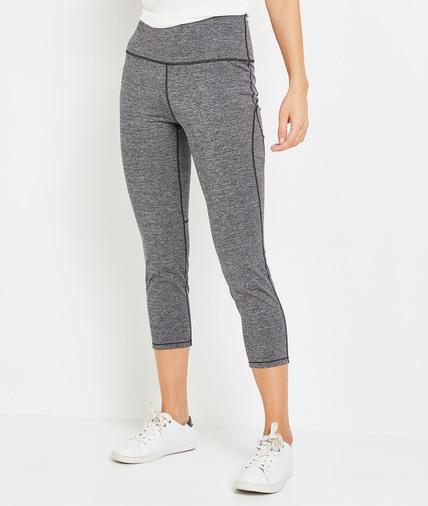 Legging de sport gris 7/8ème femme GRIS