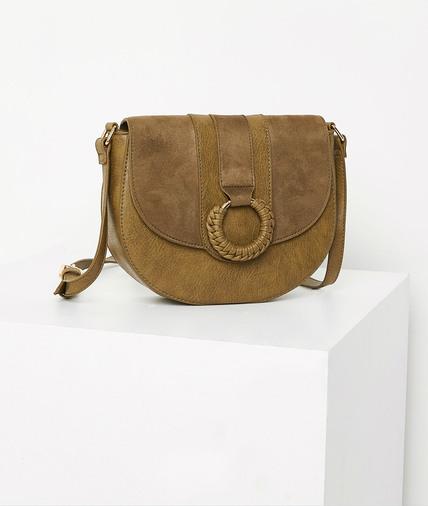 Petit sac à rabat femme KAKI