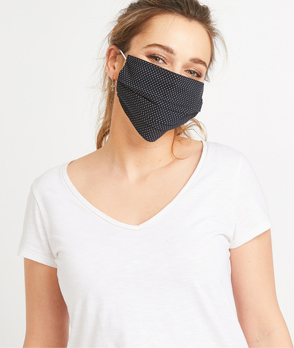 Masque en tissu fantaisie femme KAKI