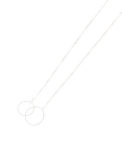 Collier 2 cercles entrelacés AUCUNE