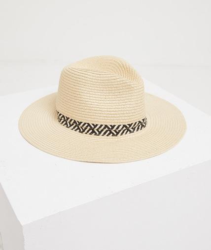 Chapeau de paille femme ECRU