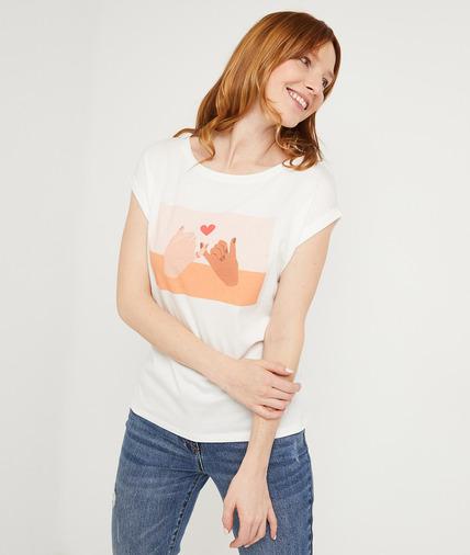 T-shirt collab journée de la femme ECRU