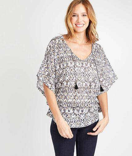 T-shirt imprimé large femme IMPRIME