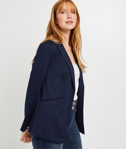Veste blazer bleu marine femme MARINE