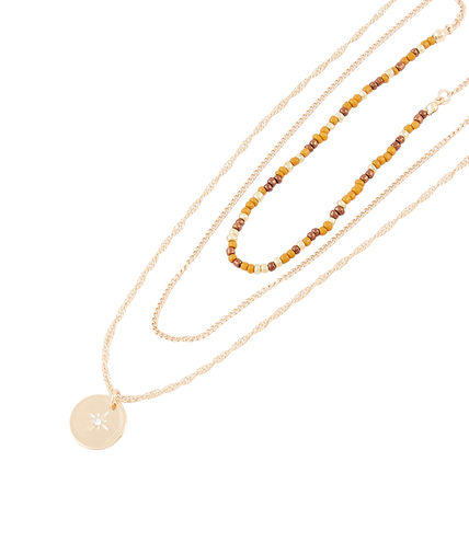 Collier 3 rangs avec perles 3 TONS