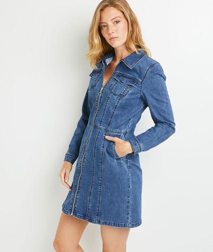 Robe en jean femme STONE