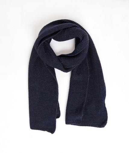 Echarpe tricotée lurex femme MARINE