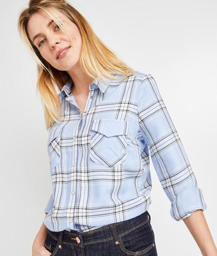 Chemise à carreaux femme CIEL